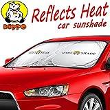 Hippo Compatible Auto Protector Car Windshield Sunshade Nylon Sun Shade With Customize Jumbo Size