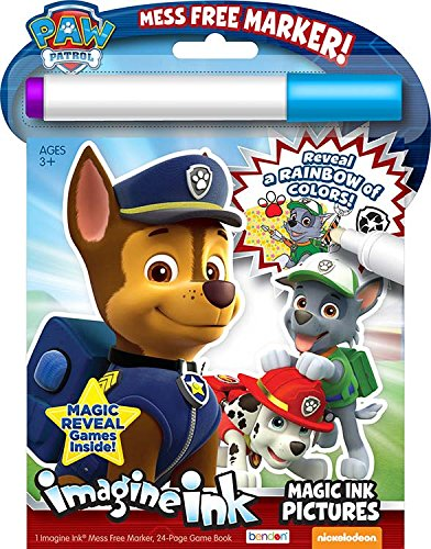 Bendon Paw Patrol Imagine Ink Activity Book - 1