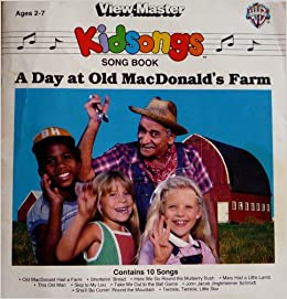 KIDSONGS Song Book (A Day at Old MacDonald's Farm)(Ages 2-7) Paperback