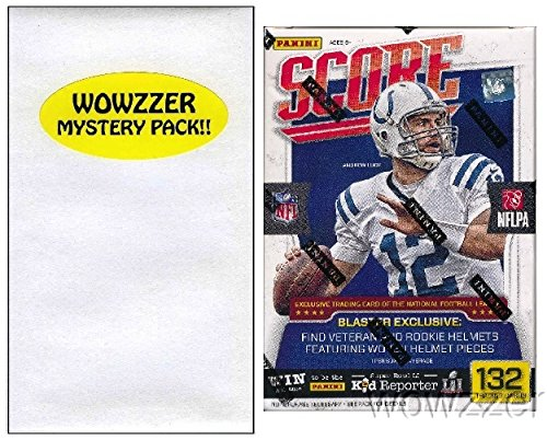 2016-Score-NFL-Football-HUGE-EXCLUSIVE-Factory-Sealed-Retail-Box-with-132-Cards-Special-HELMET-Card-Includes-over-30-Rookie-Cards-Plus-Bonus-Wowzzer-Mystery-Pack-with-AUTOGRAPH-or-MEMORABILIA-Card