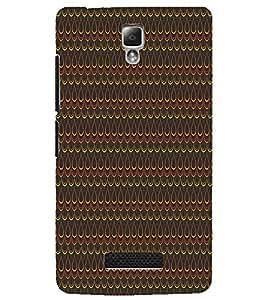 LENNOVO A2010 DROP PATTERN Designer Back Cover Case By PRINTSWAG