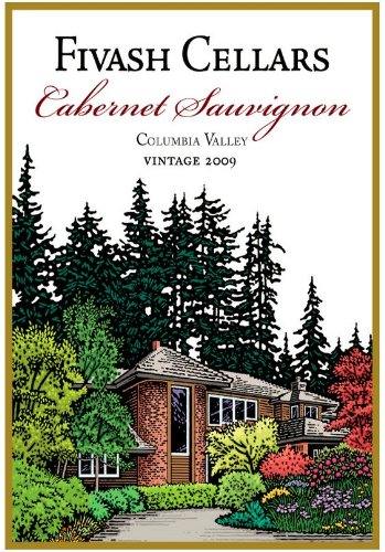 2010 Fivash Cellars Cabernet Sauvignon, Columbia Valley 750 Ml