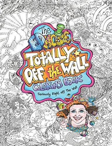 The ED Hose Totally Off The Wall Coloring Book: Seriously Right Off The Wall by Hose, ED(February 5, 2015) Paperback (Ed Hose compare prices)