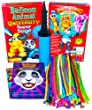 Balloon Animal University SUPERSIZED Kit. 100 Balloons NEW Custom Colors Assortment with Qualatex balloons, Jumbo Sized PRO Double-Action Air Pump, and NEW Online Video Training Series Access. Learn to Make Balloon Animals Starter Kit. by Imagination Over