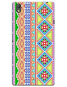 Colorful Borders case for Sony Xperia T3