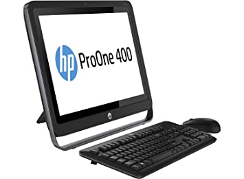HP 400PO AiO T i34130T 500G 4.0G 45 PC Ordinateur tout-en-un 21,5'' (54,61 cm) Non tactile (Intel Core i3, 4 Go de RAM, 500 Go, Intel HD Graphics 4400 Dynamic Video Memory Technology, Windows 8.1 pro)