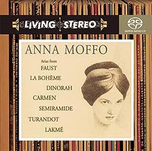 Arias from Faust, La boheme, Dinorah, Carmen, Turandot, Semiramide, Lakme