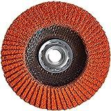 Norton Blaze R980 Abrasive Flap Disc, Type 29, Threaded Hole, Fiberglass Backing, Ceramic Aluminum Oxide