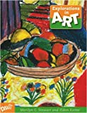 img - for Explorations in Art: 5th Grade Student Book book / textbook / text book