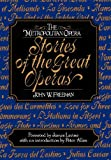 Metropolitan Opera Stories of the Great Operas (v. 1) (0393018881) by John Freeman