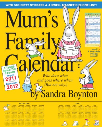 Mum's Family Calendar 2012 (Wall Calendar)