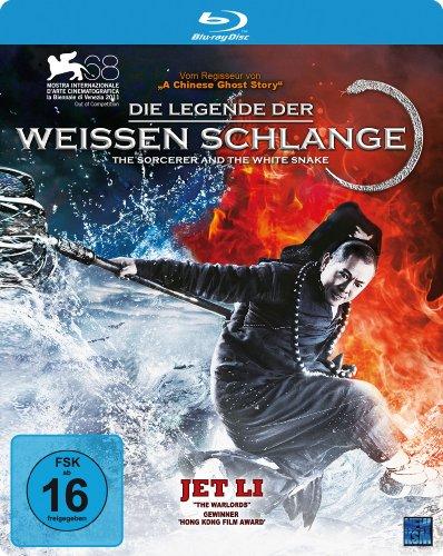 Die Legende der Weißen Schlange - The Sorcerer and the White Snake (Blu-ray, Steelbook)