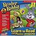 Reader Rabbit Learn to Read with Phonics! Preschool & Kindergarten