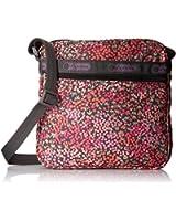 LeSportsac Shellie Cross-Body Handbag (Lavender Fields)