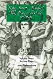 img - for Rape, Incest, Murder! the Marquis de Sade on Stage Volume Three - Asylum Plays book / textbook / text book