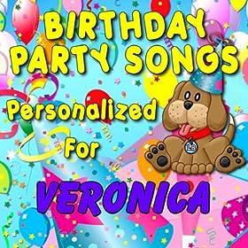 Amazon.com: Happy Birthday to Veronica (Varonica, Veronika