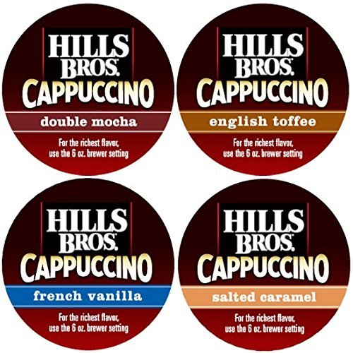 Hills Bros Cappuccino Variety Pack, 48 Single Serve Cups (Hills Brothers K Cups compare prices)