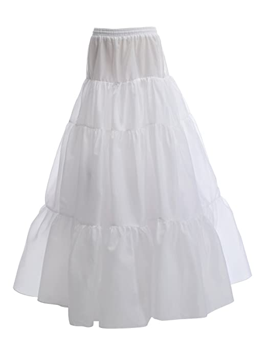 Floor Length A-Line Half Slip Petticoat Crinoline by Remedios