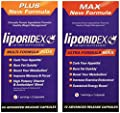 Weight Loss Supplement Combo Stack, Thermogenic Fat Burner & Appetite Suppressant Weight Loss Stack - Liporidex MAX/PLUS Combo-StakTM - BEST VALUE Diet Combo Kit and Fat Loss Supplement Stack. Save and Lose More Now
