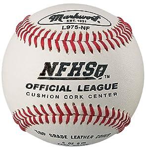 Markwort L975NF NFHS Approved High School Quality Baseball (Dozen) by Markwort