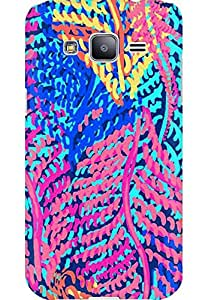 AMEZ designer printed 3d premium high quality back case cover for Samsung Galaxy j2 (abstract flower)