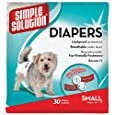 Simple Solution Disposable Diapers, Small, 30-Count