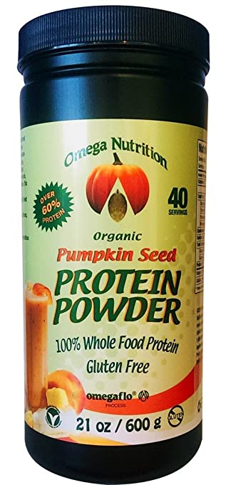 Omega Nutrition Pumpkin Seed Protein Powder, 21-Ounce