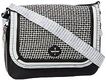 Hot Sale Pour La Victoire Chanteuse PLHB1269 Shoulder Bag,Black/White,One Size