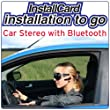 Car Stereo Head Unit w/ Built-in Bluetooth Installation