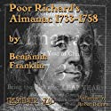 Poor Richard's Almanac Audiobook by Benjamin Franklin Narrated by Robert Bethune