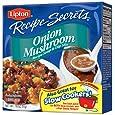 Lipton Recipe Secrets Recipe Soup & Dip Mix, Onion Mushroom 1.8 oz, (Pack of 6)