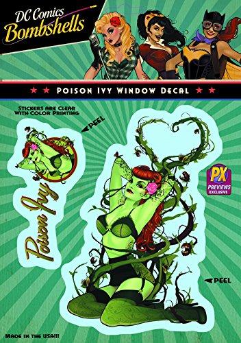 Elephant Gun DC Bombshells: Poison Ivy Vinyl Decal