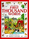 First Thousand Words (First Thousand Words Sticker Books)