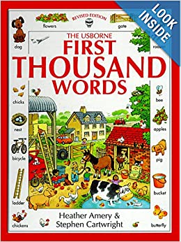 The Usborne First Thousand Words: Heather Amery, Stephen
