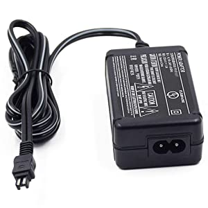 AC-L200 AC Power Adapter Charger Compatible Sony Handycam DCR-SX40,DCR-SX41,DCR-SX44,DCR-SX45,DCR-SX60,DCR-SX63,DCR-SX65,DCR-DVD7 DVD105 DVD108 DVD203 DVD205 DVD305 DVD308 DVD610. (Color: A25)