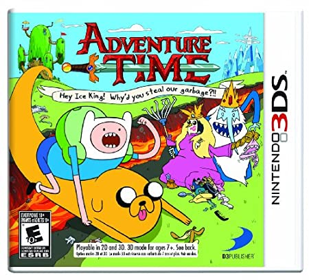 Adventure Time: Hey Ice King! Why'd you steal our garbage 3DS