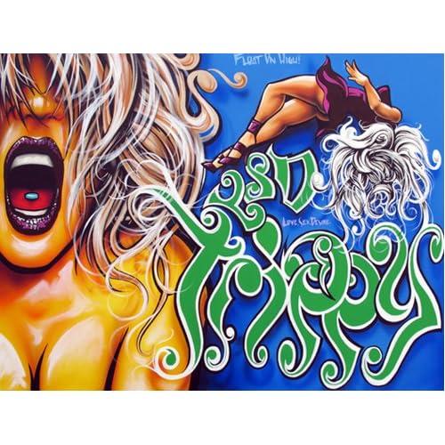 """Edition, Part of """"GrafNoir"""" Show By Graffiti Legend Erni Vales, 2011"""