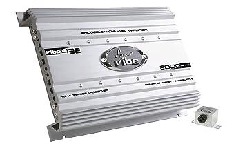 Lanzar Mosfet Amplificateur 2000 W 4 canaux Argent