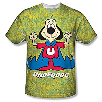 Underdog Flexing All Over Print Front T-Shirt