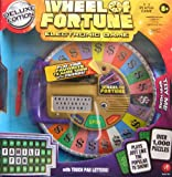 61NNkqARZfL. SL160  Wheel of Fortune Electronic Game DELUXE Edition w Touch Pad Letters