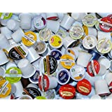 200 Count Coffee Variety Sampler Pack for Keurig K-Cup Brewers, Mc Cafe® Kups® Tim Hortons® Van Houtte® Timothy's® Starbucks® Kups.com® Tea & Hot Chocolate, May Contain different Roasts, Light, Dark Medium Roasts, all boxes are not the same