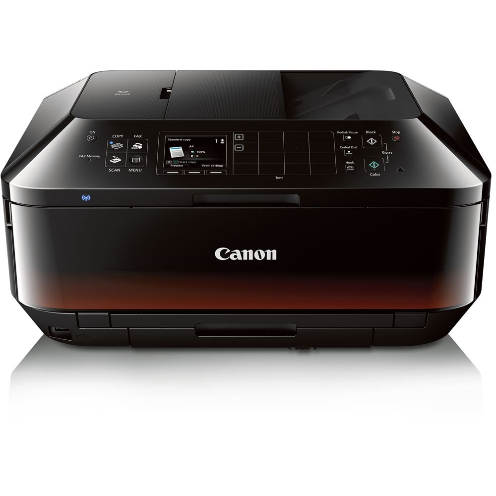 Canon PIXMA MX922 Wireless Color Photo Printer with Scanner, Copier and Fax $89.99
