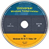 Universal Treiber-Meister für Windows 8 / 7 / Vista / XP (32 & 64 Bit)