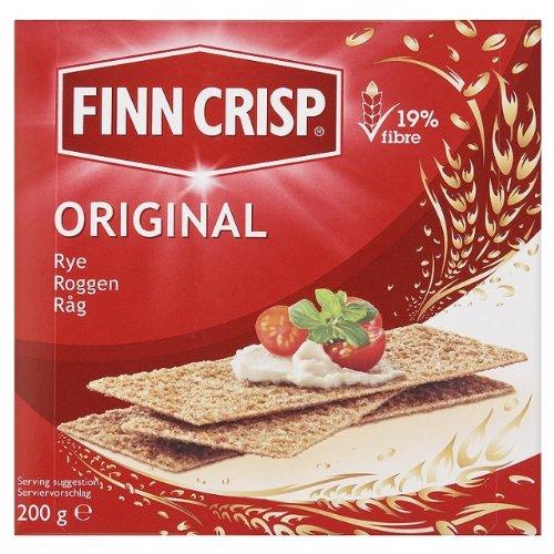 Finn Crisp Harvest Slims Rye Crispbread 12x200g