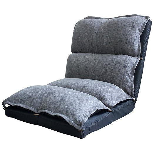 Divano creativo pieghevole divano pigro piccolo divano letto salotto casual camera da letto ( Colore : Beige )