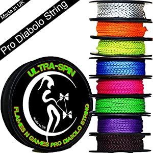 ULTRA-SPIN Pro Diabolo String 10m Reel (Choice of Colors) Performance