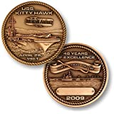 USS Kitty Hawk Decommissioning Coin
