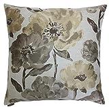 Van Ness Studio Lauren Floral Decorative Throw Pillow, Fawn