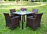 Evre Rattan Garden La 4 Seater Dining...