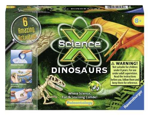 Ravensburger Science X Dinosaurs - Science Activity Kit